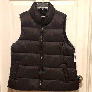 NWT Old Navy Men's Puff Vest - XL